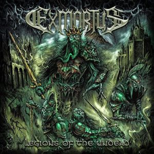 Exmortus Legions of the undead EP-CD standard