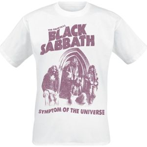 Black Sabbath Symptom Of The Universe tricko bílá
