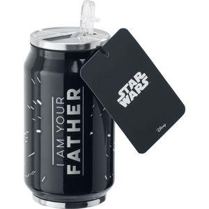 Star Wars Fathers Day láhev černá