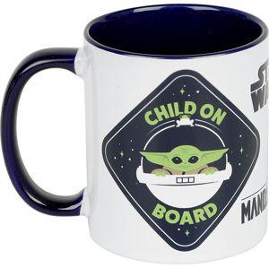 Star Wars The Mandalorian - The Child (Baby Yoda) - Child On Board Hrnek bílá