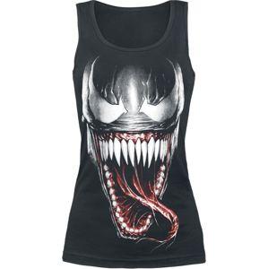 Venom (Marvel) Furious Face dívcí top černá