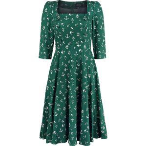 H&R London Šaty Anchor šaty zelená