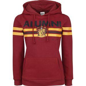 Harry Potter Gryffindor - Alumni dívcí mikina s kapucí bordová