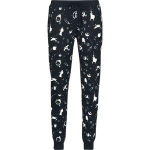 Star Wars Light Side Space Pyžamové nohavice černá