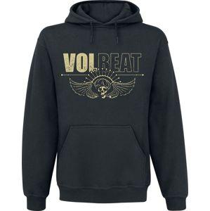 Volbeat Skull Face mikina s kapucí černá