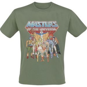 Masters Of The Universe He-Man - Group tricko zelená