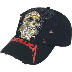 Metallica One - Distressed Dad Cap Baseballová kšiltovka černá