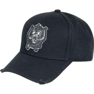 Motörhead Snaggletooth - Baseball Cap Baseballová kšiltovka černá