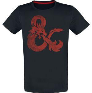 Dungeons and Dragons Dragon tricko černá
