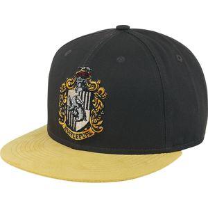 Harry Potter Hufflepuff kšiltovka cerná/žlutá
