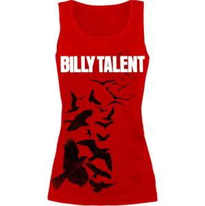 Billy Talent Red Birds dívcí top červená