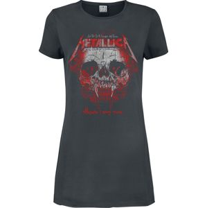 Metallica Amplified Collection - Wherever I May Roam šaty charcoal