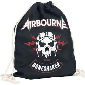 Airbourne Boneshaker Turnbeutel Sportovní batoh černá