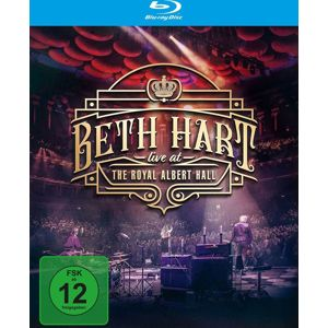 Beth Hart Live at the Royal Albert Hall Blu-Ray Disc standard