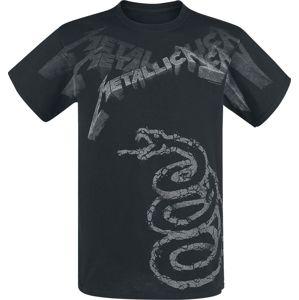 Metallica Black Album Faded tricko černá