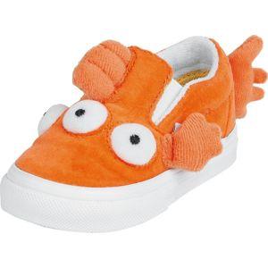 Vans Fish Slip-On V - Blinky Fish dětské boty oranžová