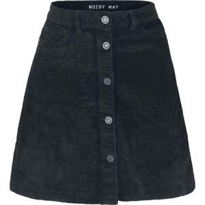 Noisy May Krátká manšestrová sukně Sunny sukne černá
