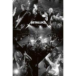 Metallica Live plakát vícebarevný