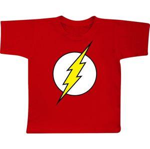 The Flash The Flash Logo detské tricko červená