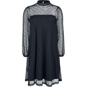 Pussy Deluxe Šaty Black Dots šaty černá