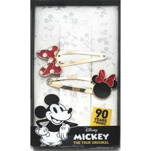 Mickey & Minnie Mouse Minnie Ozdobní sponka zlatá