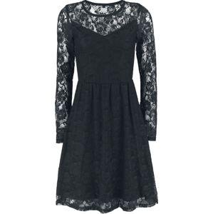 Forplay Lace Dress šaty černá