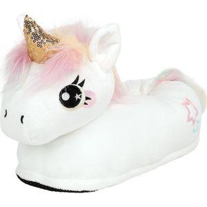 Corimori Pantofle pro dospělé Mia Unicorn papuce bílá