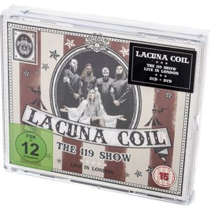 Lacuna Coil The 119 Show - Live in London DVD & 2-CD standard