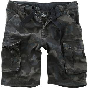 Brandit Vintage šortky Cody Šortky tmavě maskáčová