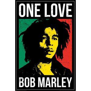 Bob Marley One Love plakát vícebarevný