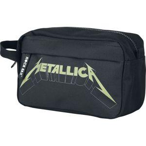 Metallica Metallica Logo Kosmetická taška černá