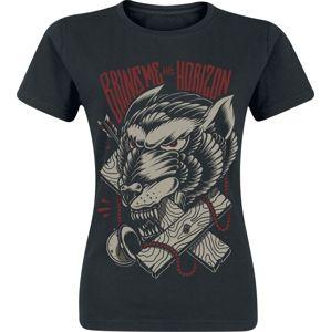 Bring Me The Horizon Wolf Terror dívcí tricko černá