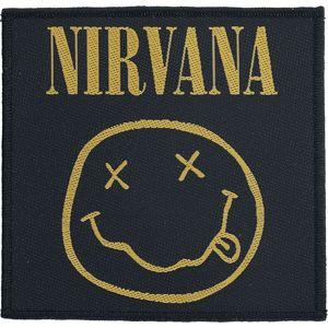 Nirvana Smiley nášivka vícebarevný