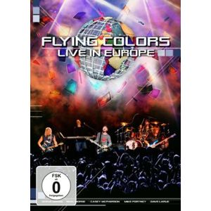 Flying Colors Live in Europe DVD standard
