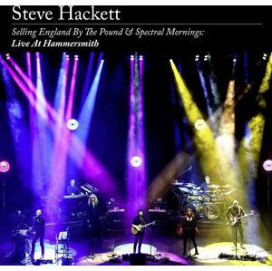 Steve Hackett Selling England By The Pound & Spectral Mornings: Live At Hammersmith 2-CD & DVD standard