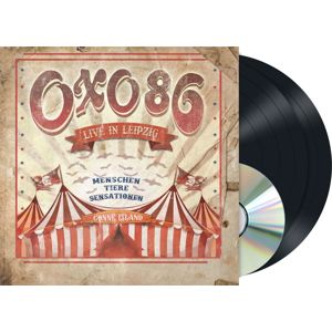Oxo 86 Live in Leipzig 2-LP & DVD standard