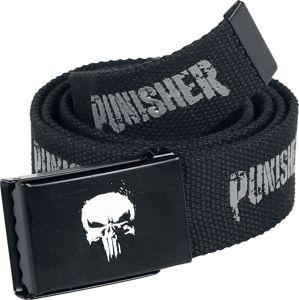 The Punisher Skull Opasky černá