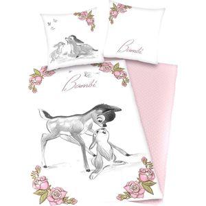 Bambi Ložní prádlo ružová/bílá