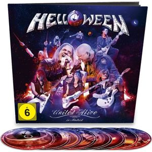 Helloween United alive 2-Blu-ray & 3-DVD & 2-CD standard