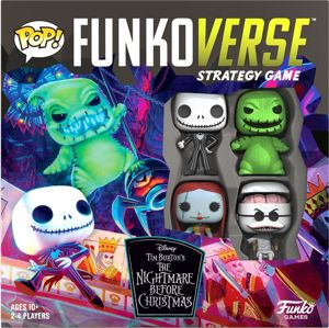 The Nightmare Before Christmas Funkoverse 100 Stolní hra standard