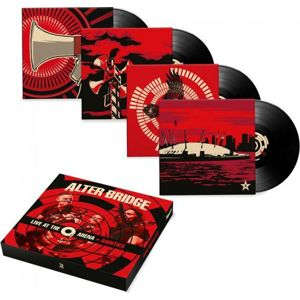 Alter Bridge Live at the O2 Arena + Rarities 4-LP standard