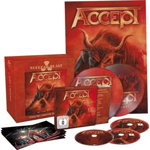 Accept Blind rage CD & DVD & Blu-ray & 2 x 7 inch standard
