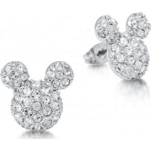 Mickey & Minnie Mouse Disney by Couture Kingdom - Micky Crystal sada náušnic stríbrná