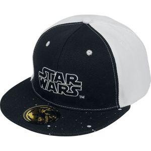 Star Wars Logo kšiltovka cerná/bílá