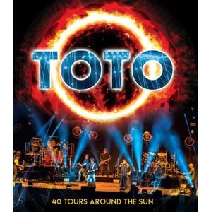 Toto 40 tours around the sun Blu-Ray Disc standard