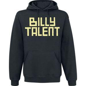 Billy Talent Louder Than The DJ mikina s kapucí černá