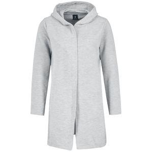 Sublevel Dámský teplákový kabát Dívcí kabát šedá