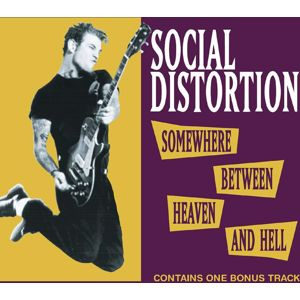 Social Distortion Somewhere between heaven and hell CD standard