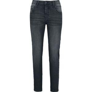 Sublevel Dámské skinny džíny se středně vysokým pasem a 5 kapsami Dámské džíny černá