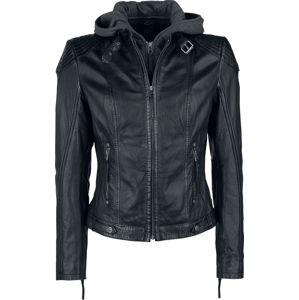 Gipsy Cacey dívcí kožená bunda černá